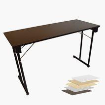 Konferansebord Kongress Standard, sammenleggbare ben i 3 farger, 3 størrelser, velg fargen på bordplaten