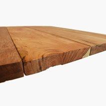 Bordplate, Mango, ubehandlet, 120x70 cm