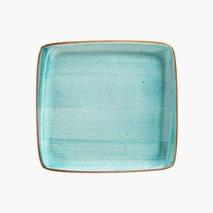 Plate Aqua, 15X14 cm, rektangulær