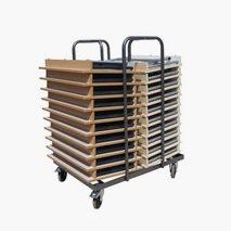 Vagn till Kongress Elevbord, plats för 20 bord