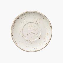 Tallerken til suppeskål Grain, Ø17 cm