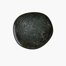 Tallerken Cosmos Black, Ø15 cm, flat