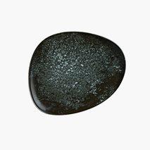 Tallrik Cosmos Black, Ø19 cm, flat