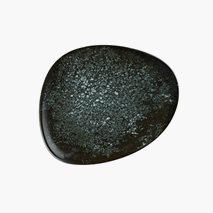 Tallrik Cosmos Black, Ø24 cm, flat