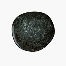 Tallrik Cosmos Black, Ø29 cm, flat