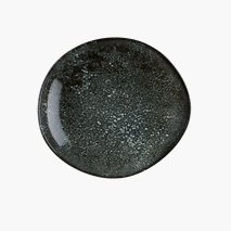 Tallerken Cosmos Black, Ø26 cm, dyp