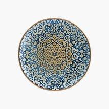 Tallerken Alhambra, Ø21 cm, flat