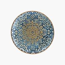 Tallerken Alhambra, Ø23 cm, flat