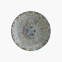 Tallrik Mosaik, Ø23 cm