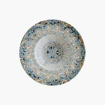Tallerken Mosaik, Ø28 cm, dyp
