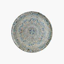 Pizzatallrik Mosaik, Ø32 cm