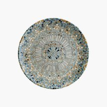 Tallerken Mosaik, Ø27 cm, flat