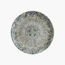 Tallrik Mosaik, Ø27 cm, flat