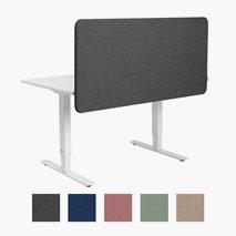 Bordskjerm Softline 30, hengende bordskjerm, 8 størrelser, 5 farger