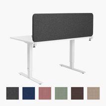 Bordsskärm Softline 30, ovan bord, 5 storlekar, 6 färger