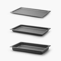 Stekebrett GN 1/1, silikonbelagt aluminium, flere størrelser