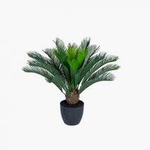 Kunstig Cycas Palm Small inkl. gryte