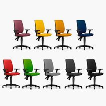 Kontorsstol Taktik, 9 färger