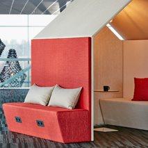The Hut Sofa - Ljudabsorberande möbel