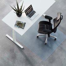 Golvskydd standard, transparent eller svart, för hårda eller mjuka golv, 3 storlekar