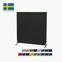 Gulvskjerm, lydabsorberende, bredde: 120 cm, 17 farger, 6 høyder