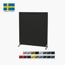 Gulvskjerm, lydabsorberende, bredde: 100 cm, 17 farger, 6 høyder