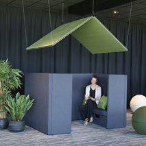 Sofa Silent Group - Lydabsorberende møbler