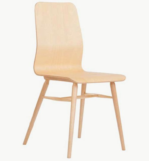 Stol X-chair wood, 16 färger