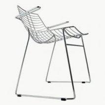 Stolen Net med armstöd, 14 färger, stapelbar