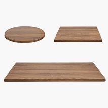 Bordplate Topalit Teak, 4 størrelser, for utemiljø