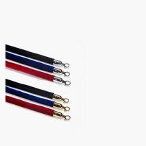 Sammetsklädda rep, 3 färger