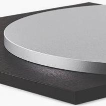 Bordsskiva laminat ABS 24, 8 storlekar, för innemiljö