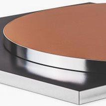 Bordsskiva laminat Abs24K, 8 storlekar, för innemiljö