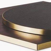 Bordplate laminat ABS24M, 9 størrelser, for innemiljø