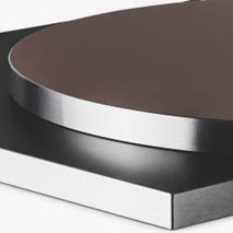 Bordplate i laminat ABS30B, 9 størrelser, for innemiljø