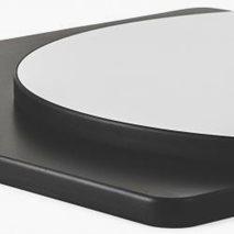 Bordplate laminat PVC 24S, 8 størrelser, til innemiljø