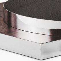 Bordsskiva i laminat ABS50K, 8 storlekar, för innemiljö