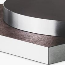 Bordplate i laminat ABS 50B, 9 størrelser, innemiljø
