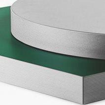 Bordsskiva i laminat ABS 50R, 8 storlekar, för innemiljö