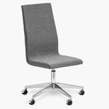 Bizz Hög stol, valfri färg klädsel/stativ