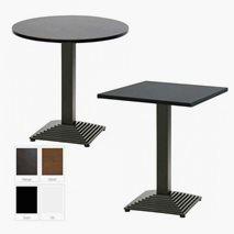 Helsinki komplett bord, 5 størrelser, 4 farger bordplate