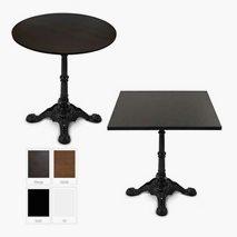 Africa komplett bord, 4 storlekar, 4 färger bordsskiva