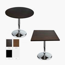 Cromo komplett bord, 5 størrelser, 4 farger bordplate