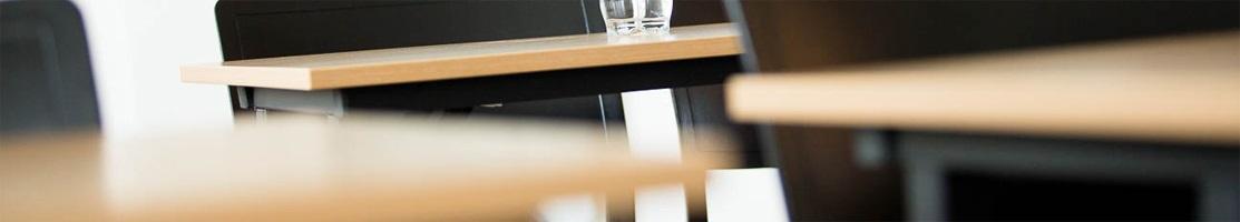 Bordsskivor för konferensmiljö