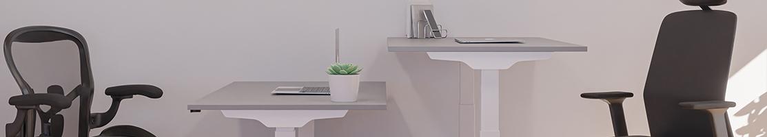 Höj- och sänkbara skrivbord