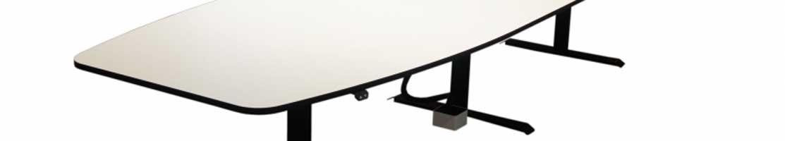 Höj- och sänkbara konferensbord