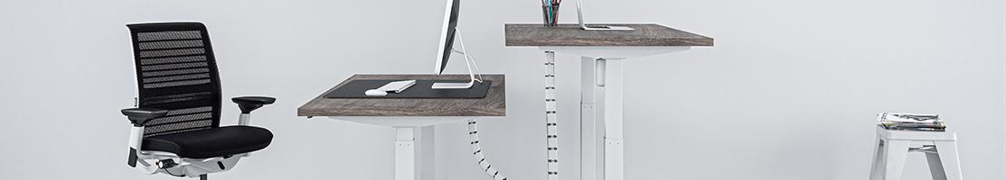 Skrivbord med vev