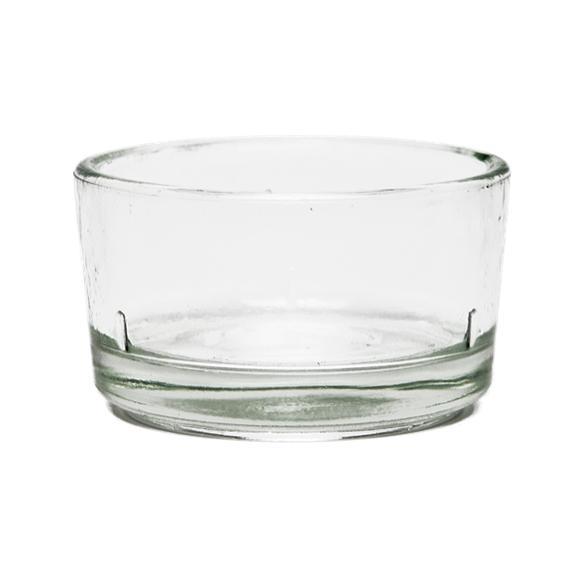 Bivax Glaskopp till Värmeljus, 1 st