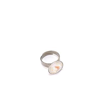 Glow White Ring