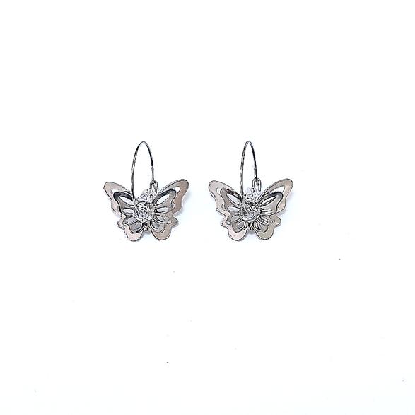 Butterfly Big Earrings